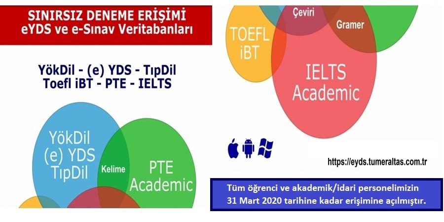 e-YDS Veritabanı