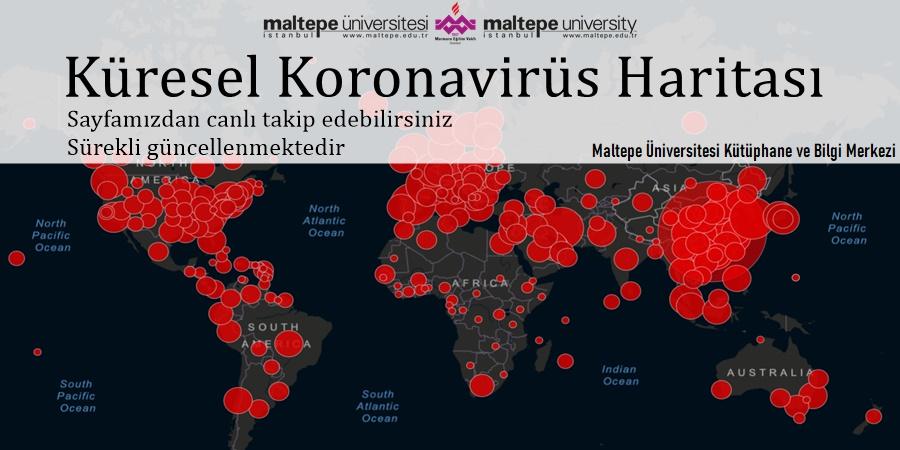 Küresel Koronavirüs Haritası