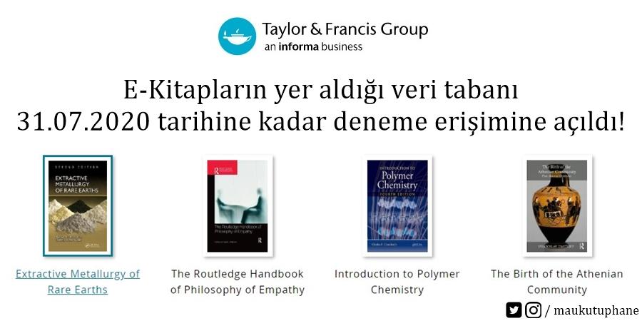 Taylor Francis E-Kitaplar